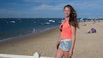 Viktoria in Arcachon am Stadtstrand / Виктория в Аркашоне у городского пляжа