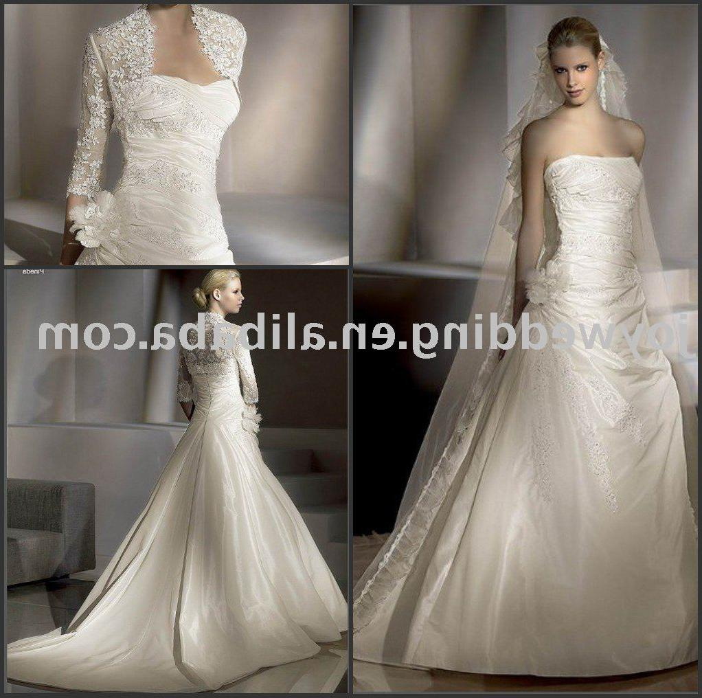 celebrity ivory wedding dress