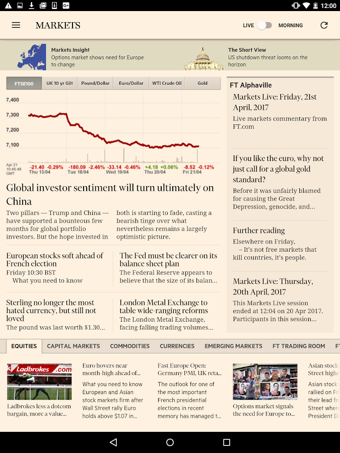 Financial Times Screenshot 14