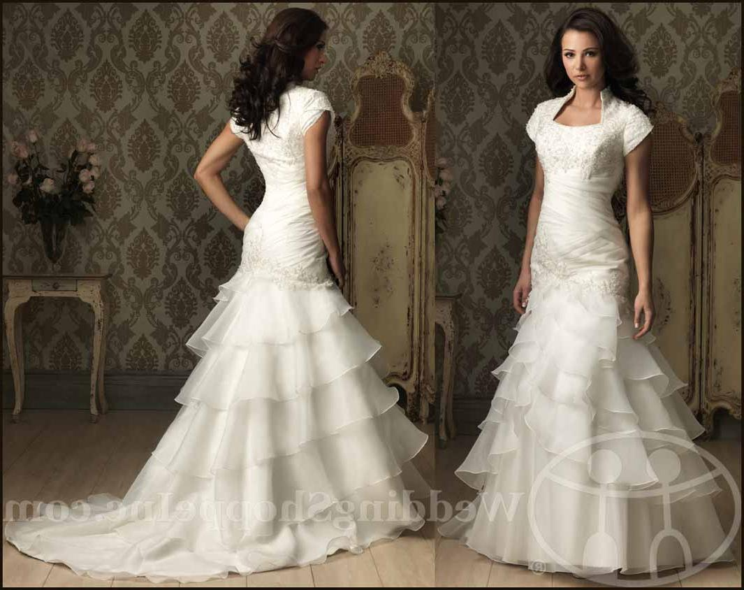Allure modest wedding dresses