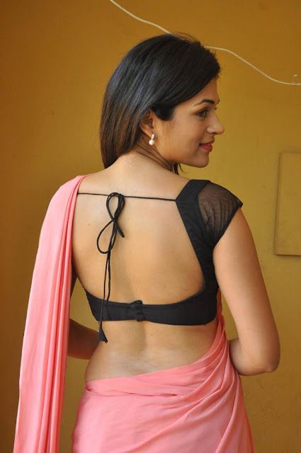 shraddha das backless