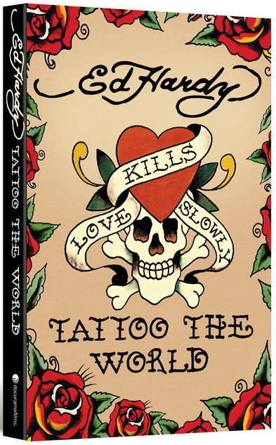 Ed Hardy Wytatuowaæ ¶wiat / Ed Hardy Tattoo The World (2010) PL.TVRip.XviD / Lektor PL