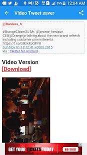 App Video | GIF Tweet Saver Pro APK for Kindle