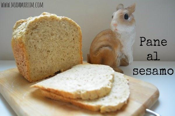 ricetta pane al sesamo