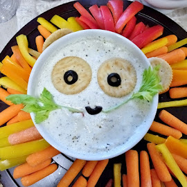 Lion Eyes by Gary Ambessi - Food & Drink Eating