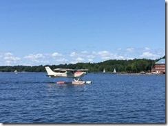 Burlington seaplane