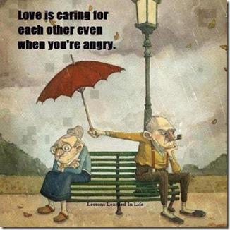 Caring when you're angry