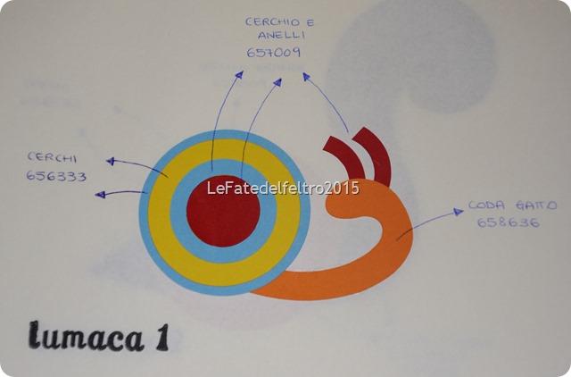 lumaca punch art le fate del feltro (3)