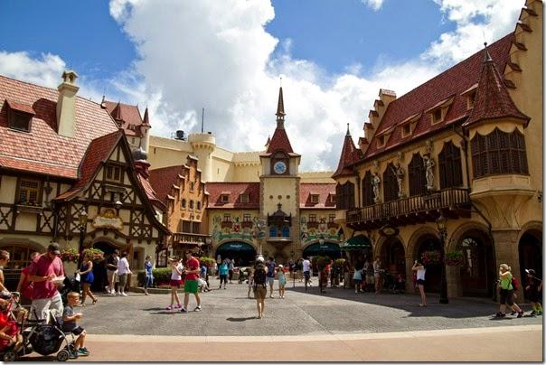Germany Pavillion in Epcot Disney World