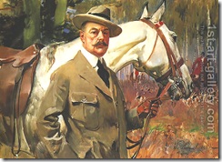 Kossak. Wojciech Self-portrait with a Horse