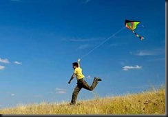 Look at the JOY a Kite Brings