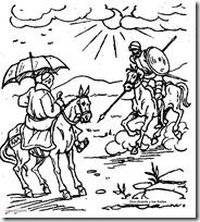2Don Quijote y los frailes 1