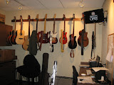 Guitars backstage at the Grand Ole Opry in Nashville TN 09032011
