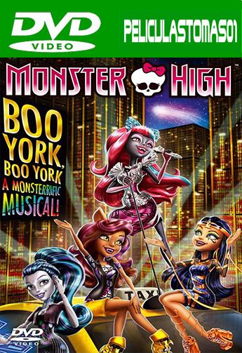 Monster High: Monstruo York (2015) DVDRip