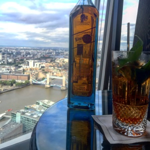 Johnnie Walker Blue Label the shard