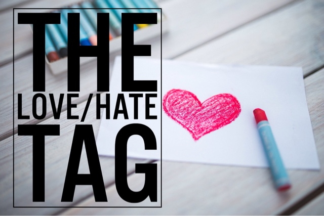 Love hate tag