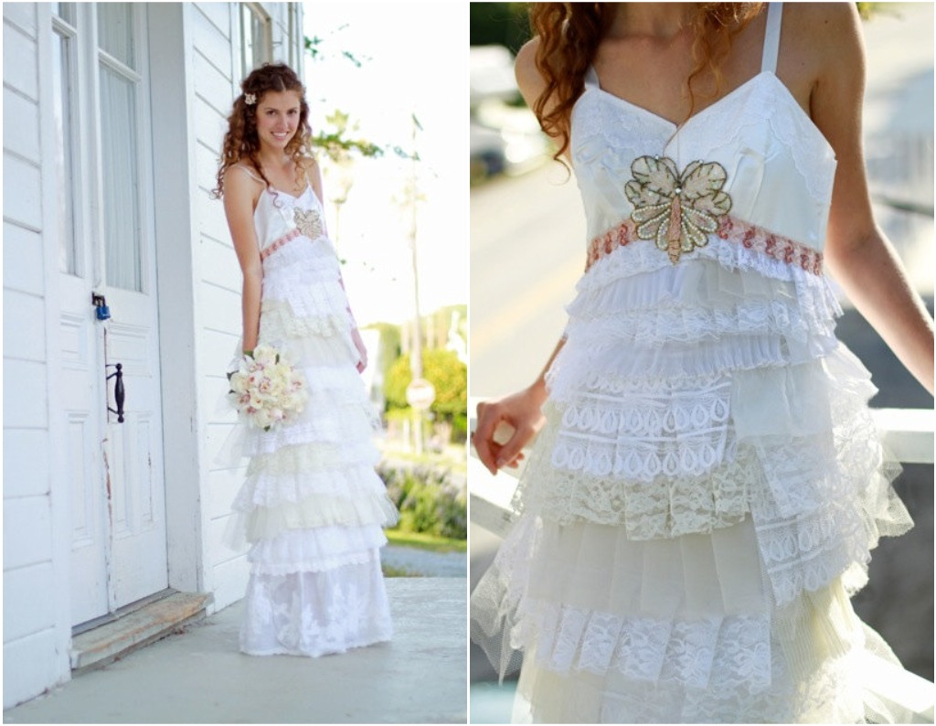 boho wedding fashion
