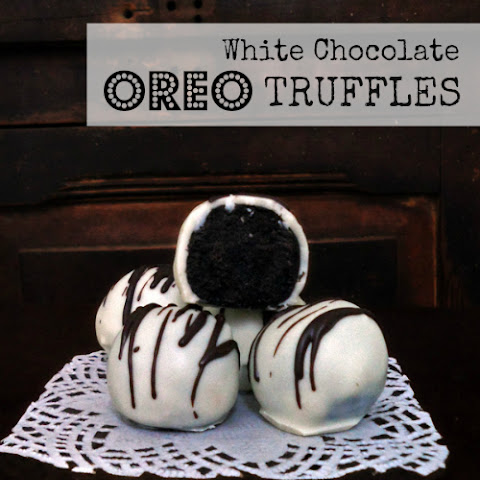 Oreo Cookie Truffles