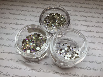 liverpoollashes how to make faux rhinestones and studs in Shellac