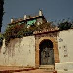 dzielnica Albaicin Carmen, czyli tradycyjny dom z ogrodem na dziedzińcu
