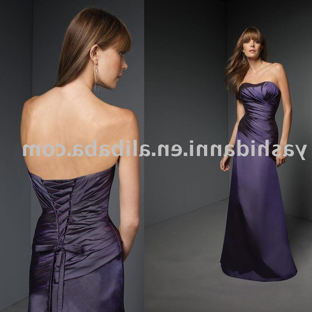 2011 Ruching Strapless Lace up