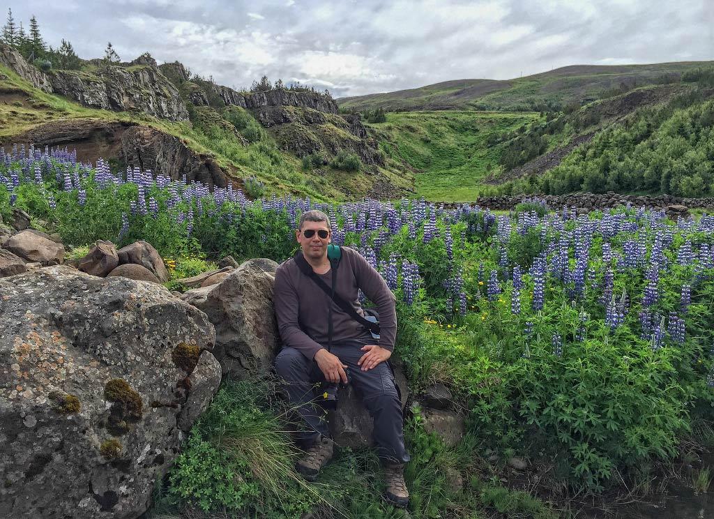 Вадим Миняйловский a.k.a. vakomin в Исландии