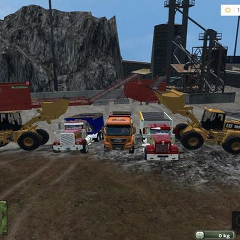 Farming simulator 2015 - Truck for the mining map v 2.0