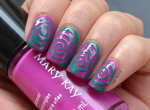 Mary Kay Paradise Calling Nail Lacquer Review Swatches (3)
