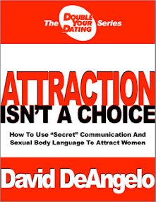 Cover of David Deangelo's Book Double Your Dating Attraction Is Not A Choice