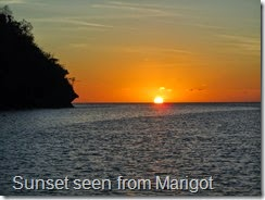 040 Sunset, Marigot