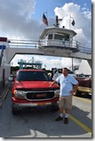 Andy and Big Red on the Ferry
