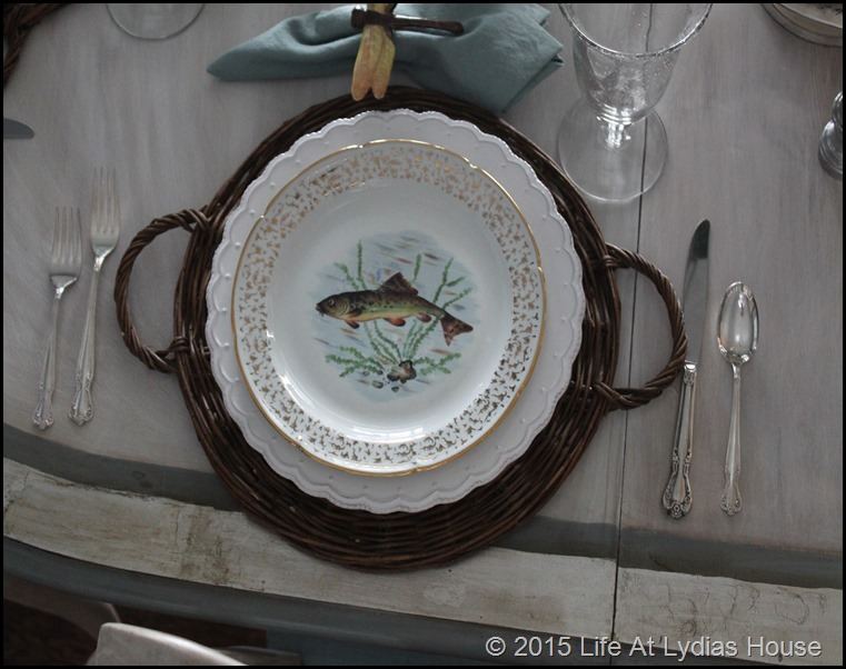 Limoges fish plate 2