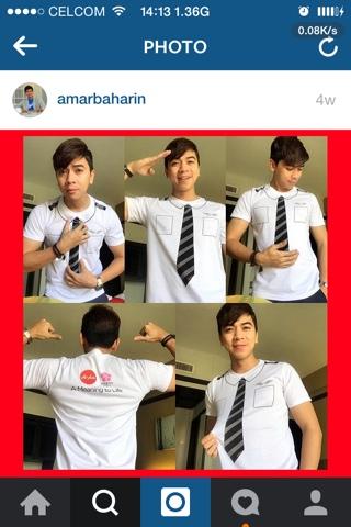 Tiru gaya AmarBaharin #AirAsiaMAKNA