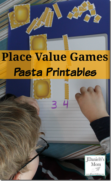 Pasta Place Values Game