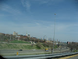 A view of the St Louis Arch as we're driving on the highway 03202011