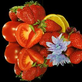 fruits,vegetables and flower by LADOCKi Elvira - Food & Drink Fruits & Vegetables ( fruits )