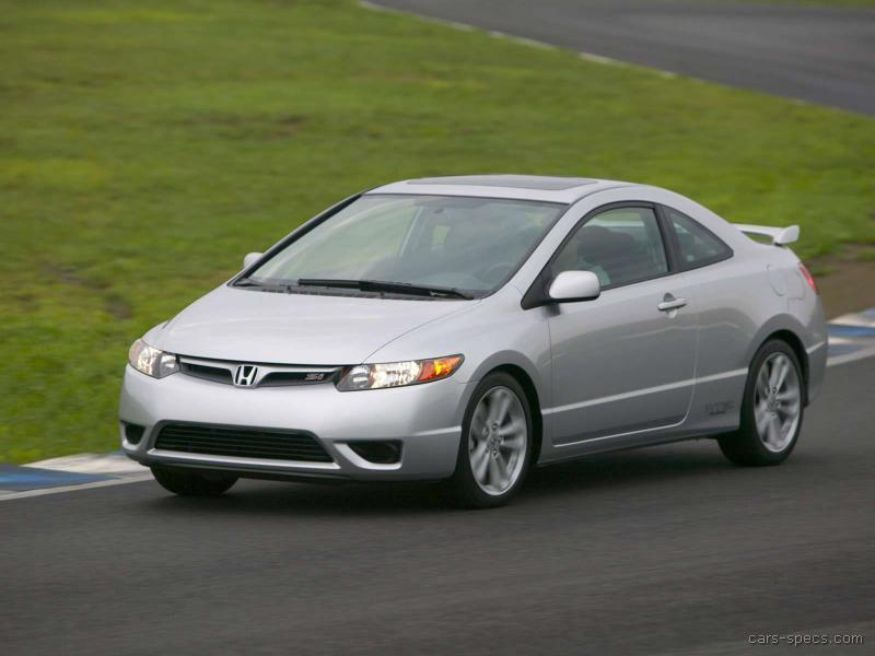 2008 honda civic si specifications pictures prices. Black Bedroom Furniture Sets. Home Design Ideas