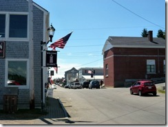 Downtown Lubec, ME