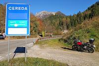 Zum Passo di Cereda (1369m), Westrampe.