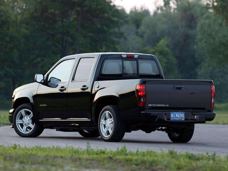 2004 chevrolet colorado crew cab specifications pictures prices. Black Bedroom Furniture Sets. Home Design Ideas