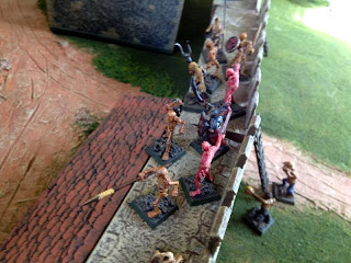 Zombies and Ghouls gain the northwest wall