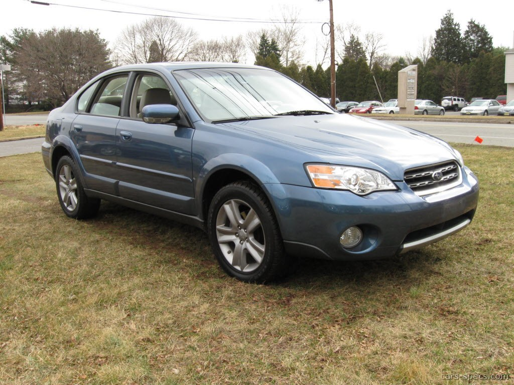 2007 subaru outback sedan specifications pictures prices. Black Bedroom Furniture Sets. Home Design Ideas