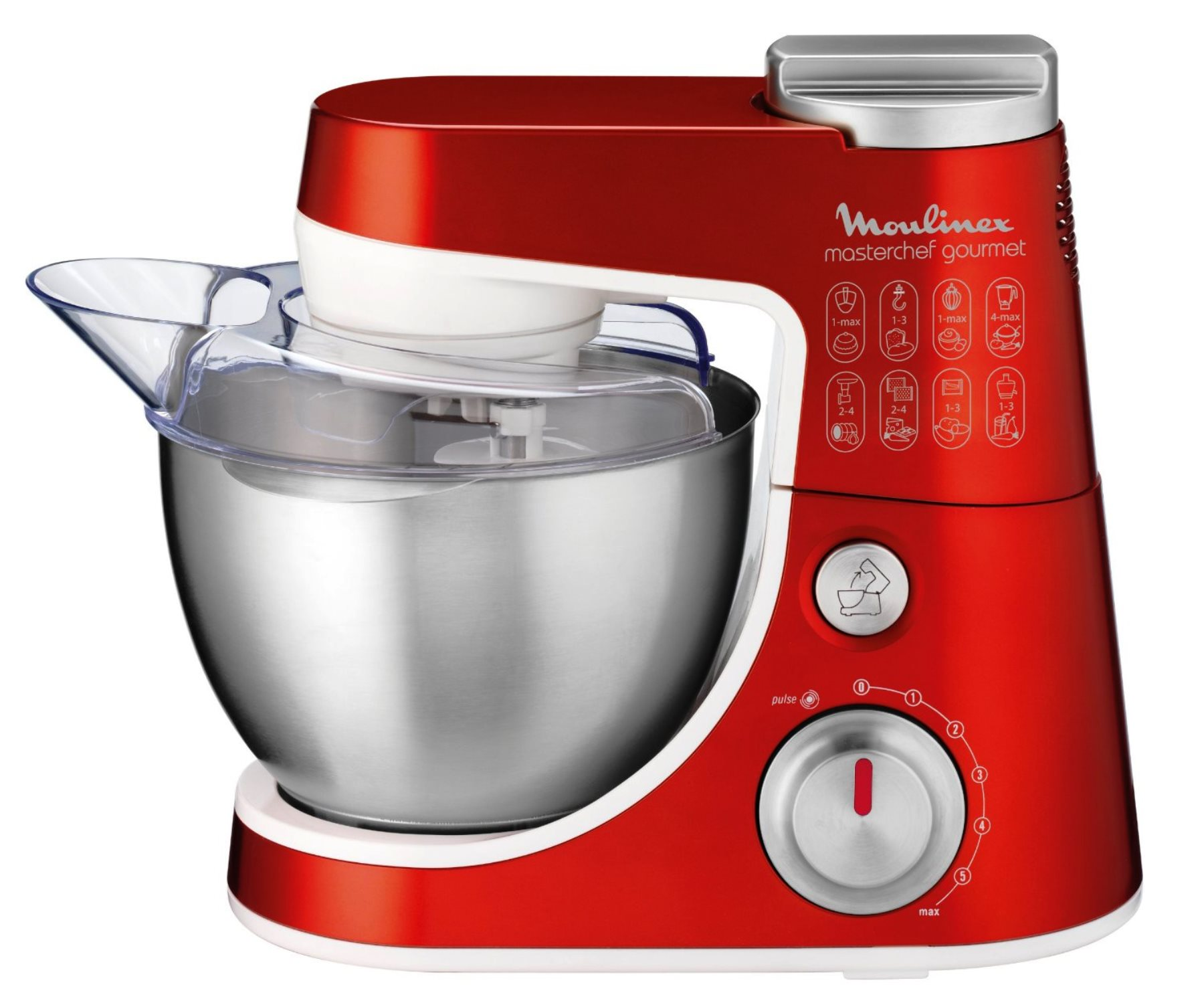 Moulinex qa403gb1 masterchef gourmet impastatrice e robot da cucina - Robot da cucina moulinex ...