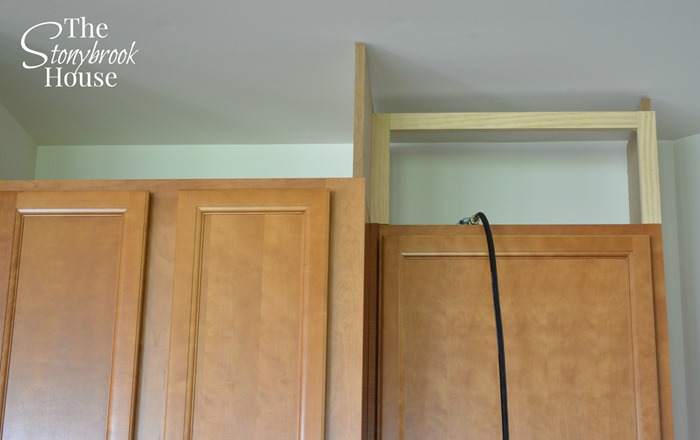 Diy Extend Kitchen Cabinets To Ceiling - Kitchen