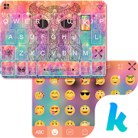 Owl Kika Emoji Keyboard Theme For PC (Windows And Mac)