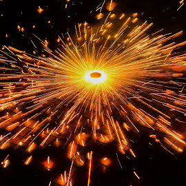 Firework by Shiva Ranjita - Abstract Fire & Fireworks ( moving, firework, cracker, ground, light, fire,  )