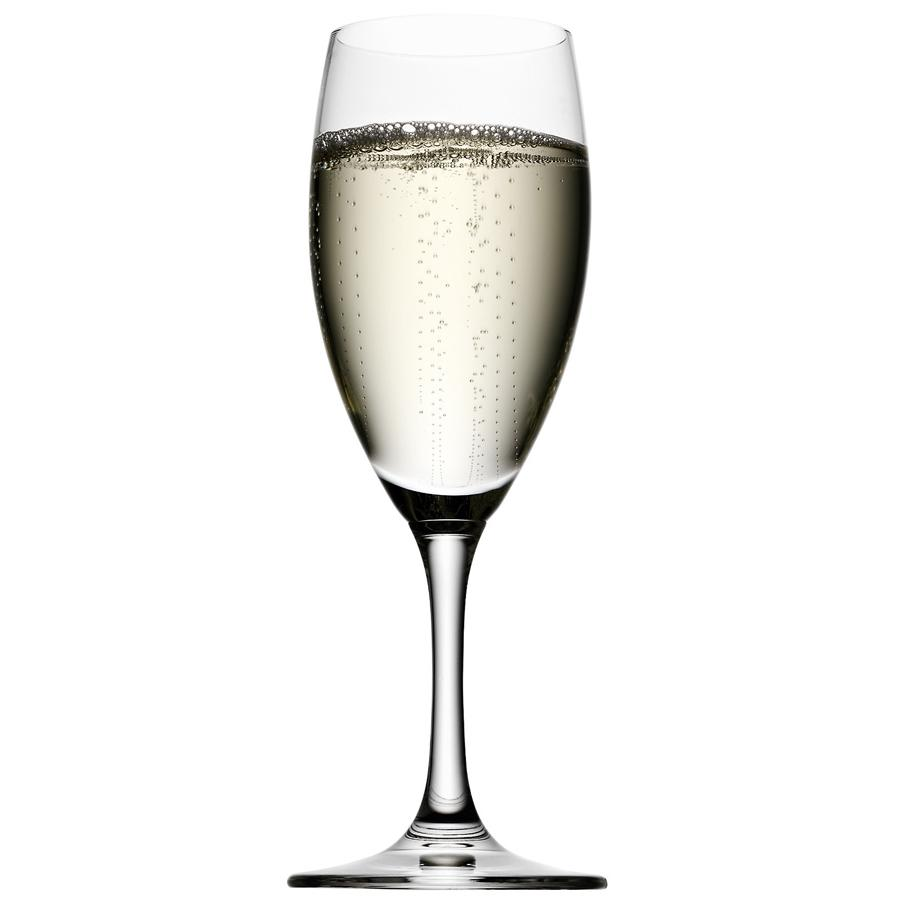 personalized wedding champagne