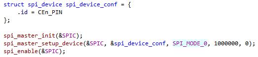 config code