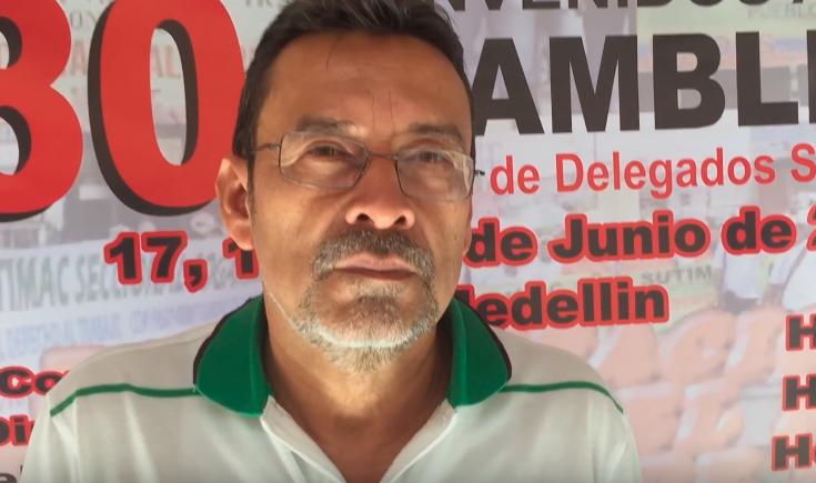 NEGOCIACION 2015 ARGOS - SUTIMAC OTONIEL RAMIREZ LOPEZ PRESIDENTE NACIONAL DE SUTIMAC