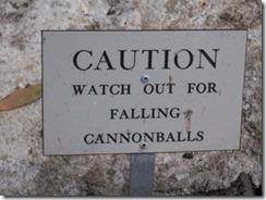 falling cannonballs